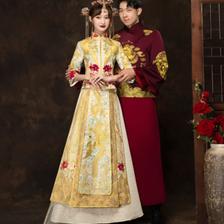 金色秀禾服有什么意义 金色秀禾服有什么寓意