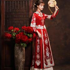 红色秀禾服的寓意