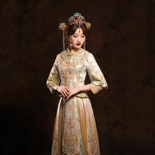 穿秀禾服出门什么时候换婚纱 出门穿婚纱什么时候换秀禾服