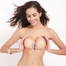 【19.9包邮】硅胶拉绳小胸聚拢隐形内衣防滑胸贴