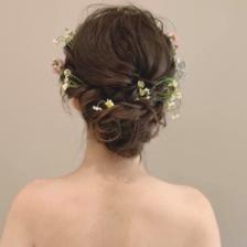 拍婚纱照什么发型好看