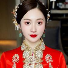新娘秀禾妆容造型图片 秀禾新娘妆面造型特点