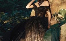 黑色婚纱图片欣赏 结婚穿黑色婚纱是什么意思