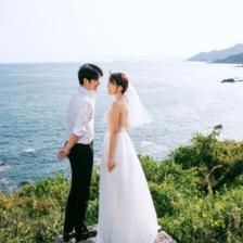 2021流行的婚纱照造型