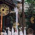 重庆哈曼酒店|👰粉绿色户外新中式婚礼