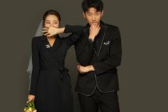 婚纱照背景可以用黑色吗