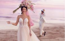 130斤微胖婚纱照风格