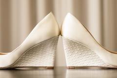 婚鞋买6厘米还是8厘米