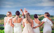新娘手腕花和伴娘手腕花一样吗